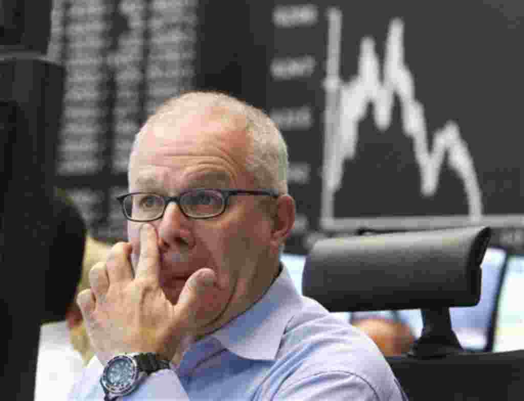 Los corredores en Alemania siguen de cerca las operaciones en Wall Street, así como la evolución del Dax en Frankfurt.