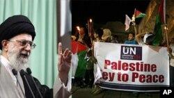 ایران مفکوره دو کشور جداگانه فلسطین و اسرائیل را رد میکند