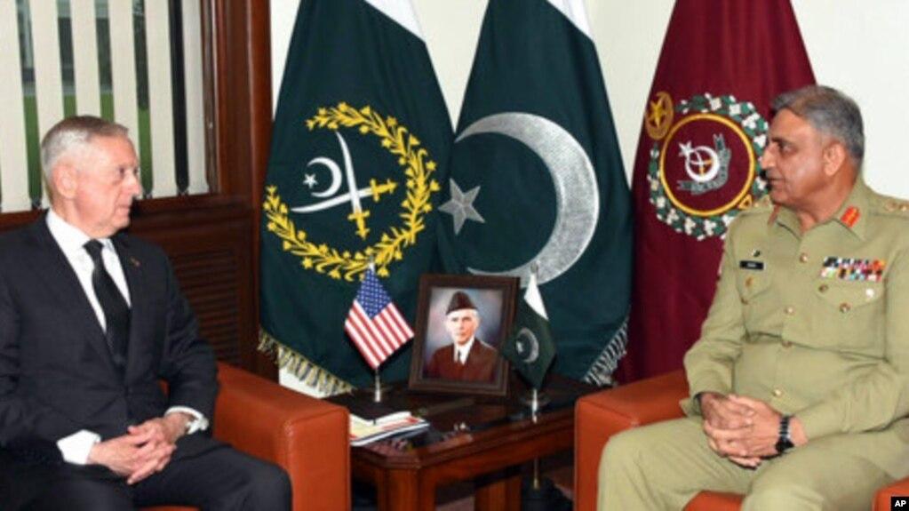 США опровергли утверждение Пакистана о приостановке военного сотрудничества