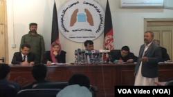 جلسه علنی استیناف خواهی در مورد شکایات دور دوم انتخابات