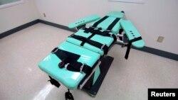 Ruangan untuk melaksanakan eksekusi hukuman mati dengan suntikan di sebuah penjara di AS (foto: dok).