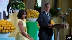 El presidente barack Obama y la primera dama, Michelle Obama fueron los anfitriones de la segunda cena de estado para los niños en la Casa Blanca.