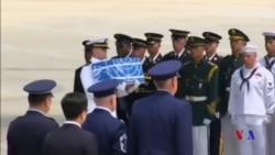 55具韓戰中犧牲美國軍人遺骸運至南韓