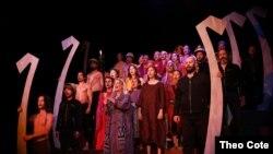 """Predstava """"Trojanke"""" u njujorškom pozorištu La Mama"""
