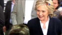 Encuesta: Clinton arriba por 5 puntos