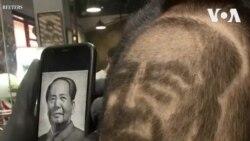 Tay kéo Trung Quốc thử tài tạo hình tóc theo mặt người nổi tiếng