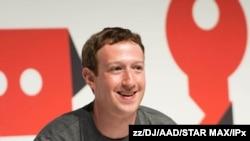 فیس بک کے سی ای او مارک زکربرگ۔