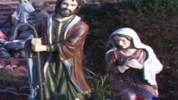 耶稣诞生的圣诞布景引发争议