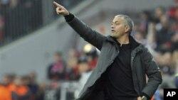 Kepala pelatih Real Madrid, Jose Mourinho akan mundur akhir musim ini (foto: dok).