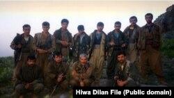 PKK fighters