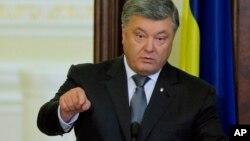 Петр Порошенко: Украина готова ввести санкции против российских олигархов