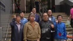 香港9名民主活动人士被捕