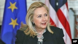 美国国务卿希拉里·克林顿(资料照片)
