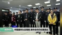 VOA连线(易林):中国重判九名毒贩,美中合作仍任重道远