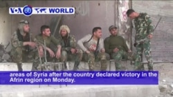 VOA60 World - Turkey Vows to Expand Syria Fight Against Kurds