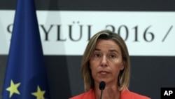 Pimpinan kebijakan luar negeri Uni Eropa Federica Mogherini (Foto: dok).
