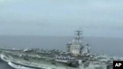 the Nimitz Class Aircraft Carrier Dwight D. Eisenhower