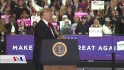 Trump Xwe ji Hilbijartinên Mijdarê re Amade Dike