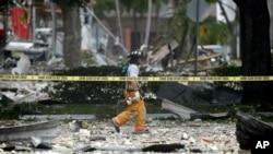 佛羅里達種植園市(Plantation)一個購物中心7月6日發生劇烈爆炸,導致至少21人受傷。