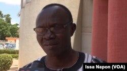 Le docteur Some, à Ouagadougou, le 23 juillet 2017. (VOA/Issa Napon)
