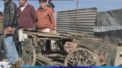 叛乱分子在阿富汗首都发射火箭弹
