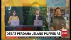 Laporan Langsung VOA untuk CNN: Jelang Debat Capres AS