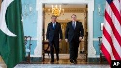 وزرای خارجه امریکا و پاکستان (عکس از آرشیف)
