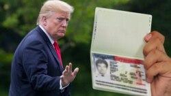 Trampning immigratsiya bo'yicha takliflari