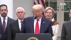 特朗普宣佈國家緊急狀態以對抗新冠疫情 (粵語)