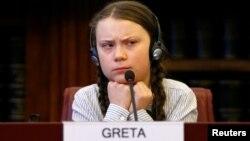 """Greta Thunberg aktivis iklim Swedia yang memrakarsai gerakan Climate Strike (""""Pemogokan Iklim"""")bagi para pelajar sejak usia 15 tahun."""