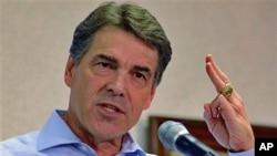 美国共和党总统参选人、德克萨斯州长佩里
