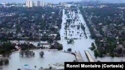 Houston inundada
