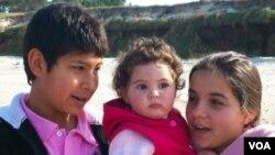 Franco, Pía y Mahiara son los hijos de Daniel Melo y Walter Martínez que ahora podrán ser adoptados por la pareja.