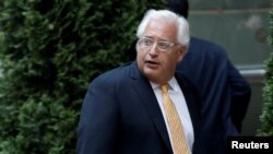 Pengacara David Friedman di Manhattan, New York, 21 Juni 2016 (Foto: dok).