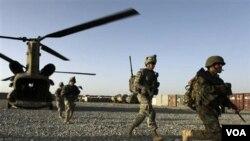 Pasukan NATO siap melakukan operasi militer di Kandahar, Afghanistan selatan.