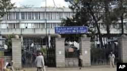In an Addis Ababa, Ethiopia, courtroom, Swedish journalists Johan Persson and Martin Schibbye face terror-related charges.
