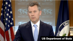 美國國務院新聞辦公室主任傑夫·拉特克(圖片來源:美國國務院)