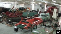 You name it. If it's a piece of farm machinery, it's probably in the Ag Hall of Fame's museum, or outside.