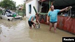 روس میں سیلاب(فائل)