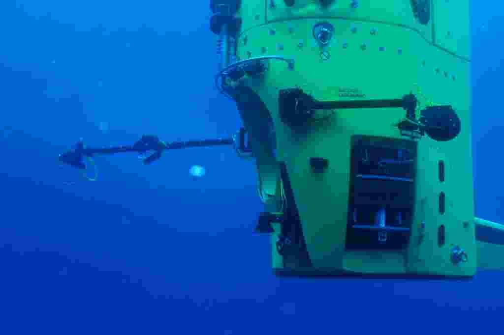 Varias pruebas de resistencia fueron realizadas sobre el Deepsea Challenger.