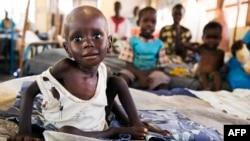 Salah satu fasilitas medis kelompok MSF untuk merawat anak-anak yang menderita kurang gizi parah di Sudan Selatan (foto: ilustrasi).