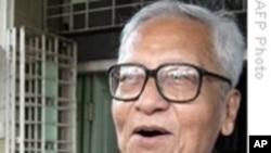 缅甸资深反对派领导人被押受审