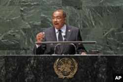 Michel Sidibé, directeur exécutif d'ONUSIDA