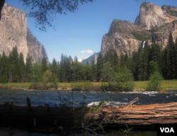 美国国家公园独特景观: 加利福尼亚州优胜美地国家公园