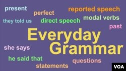 Everyday Grammar - You Can Master Reported Speech