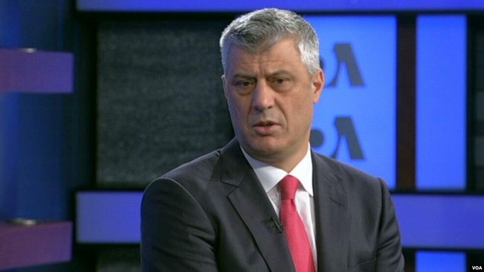 Thaçi: Çështja e Kosovës, politikë zyrtare e SHBA