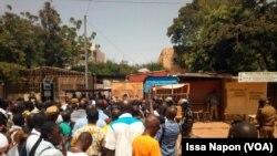 Reportage d'Issa Napon, correspondant à Ouagadougou pour VOA Afrique