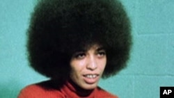 Aktivis HAM AS Angela Davis.