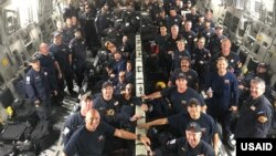 On September 19, USAID deployed a Disaster Assistance Response Team (DART) to Mexico in response to a powerful magnitude 7.1 earthquake. The DART included 67 urban search and rescue members and 5 canines from the Los Angeles County Fire Department.