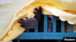 在中国云南昆明查缴的野生猕猴。